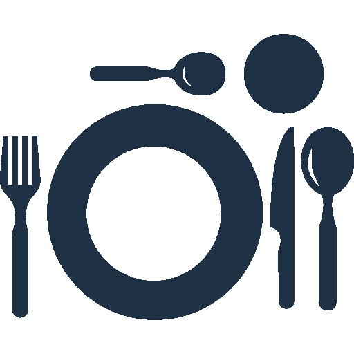 restaurant-plate-top-view